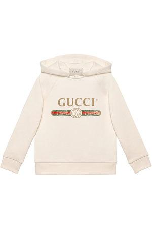 Gucci Felpa con logo Gucci - Di colore