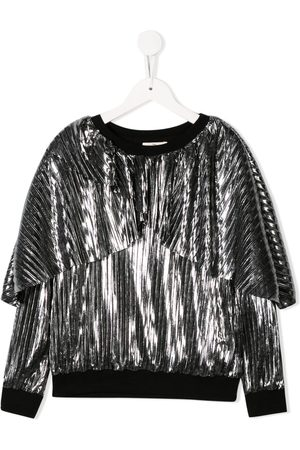 Le pandorine Metallic pleated sweatshirt - Color