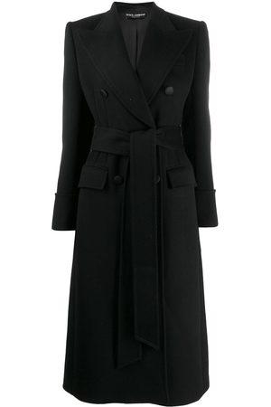 Dolce & Gabbana Donna Cappotti - Cappotto con cintura