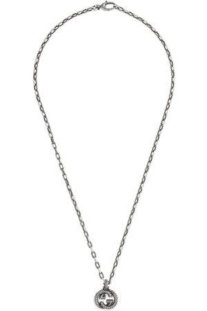 Gucci Collana in argento con GG