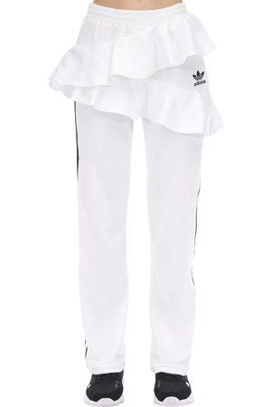 adidas Pantaloni In Velluto Con Ruches