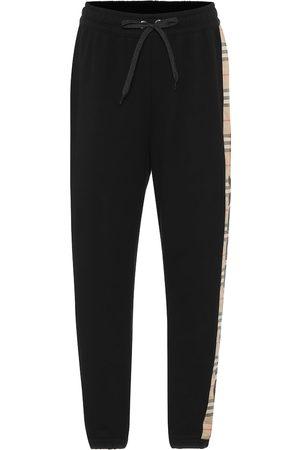 Burberry Pantaloni sportivi in cotone