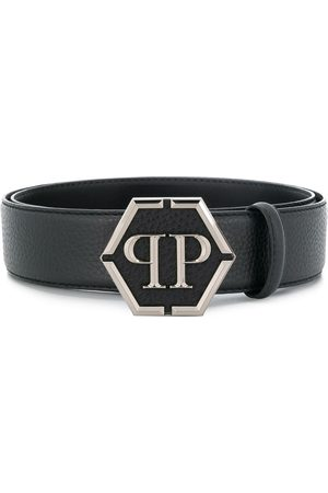 Philipp Plein Cintura con fibbia con logo