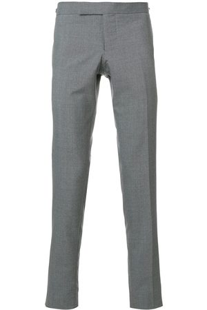 Thom Browne Pantaloni skinny a vita bassa