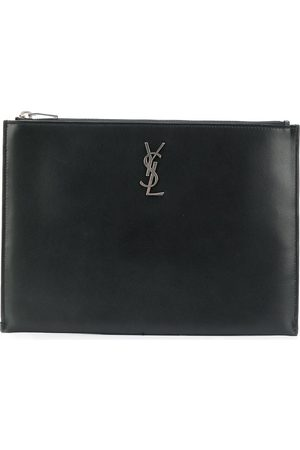 Saint Laurent Porta tablet con monogramma