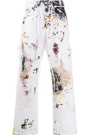 OFF-WHITE Jeans slim con stampa - Di colore