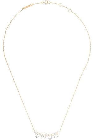 DELFINA DELETTREZ Collana Two-In-One in 18kt con perle e diamanti