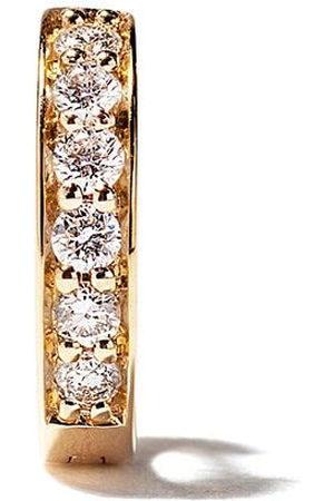 ALINKA Orecchino a cerchio piccolo Irina in giallo 18kt con diamanti