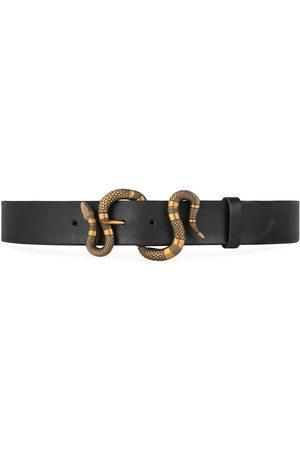 Gucci Cintura con fibbia serpente