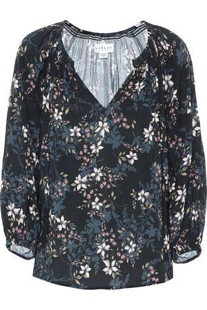 Velvet Blusa Valeria a stampa floreale