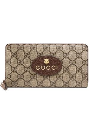 Gucci Portafoglio con zip Neo Vintage GG Supreme - Toni neutri