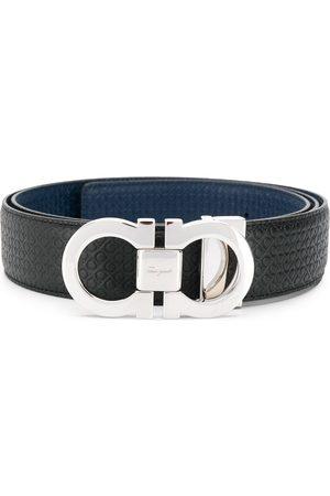 Salvatore Ferragamo Uomo Cinture - Cintura Gancini reversibile