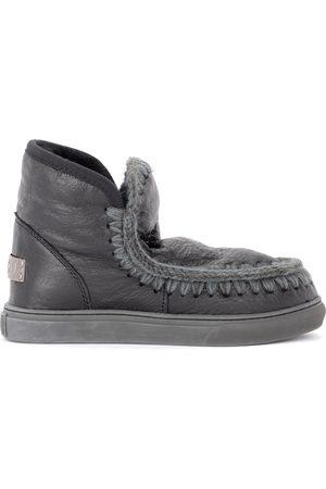 Mou Donna Stivaletti - Stivaletto Mini Eskimo Sneaker in montone cracklè