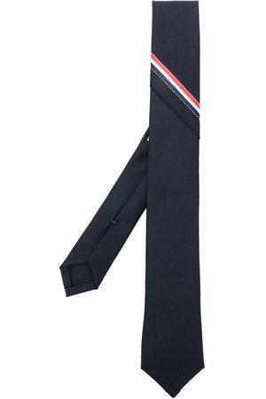 Thom Browne Uomo Papillon - Cravatta con motivo a righe e logo