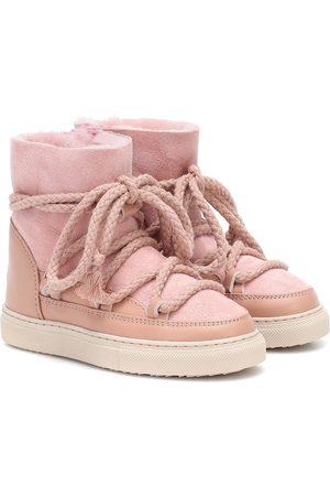 INUIKII Kids Stivaletti sneakers in suede e pelle