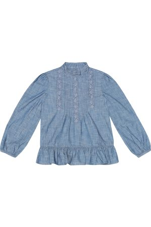 Ralph Lauren Blusa in chambray di cotone