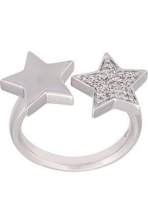ALINKA Anello 'Stasia' con due stelle - Effetto metallizzato