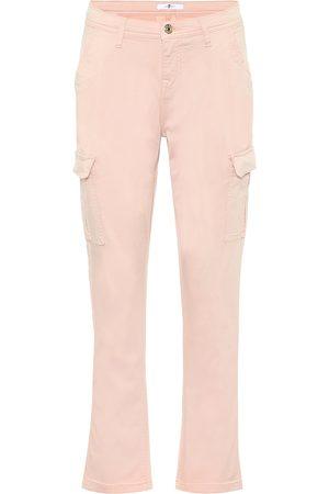 7 for all Mankind Pantaloni in cotone stretch