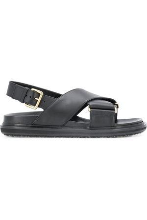 Marni Sandali con cinturini incrociati - Di colore