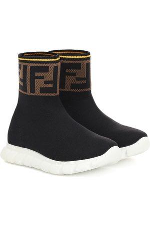 Fendi Sneakers Jor Boy in maglia