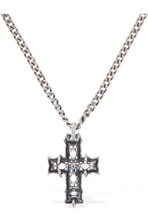 """EMANUELE BICOCCHI Collana Mini """"notre Dame Cross"""""""