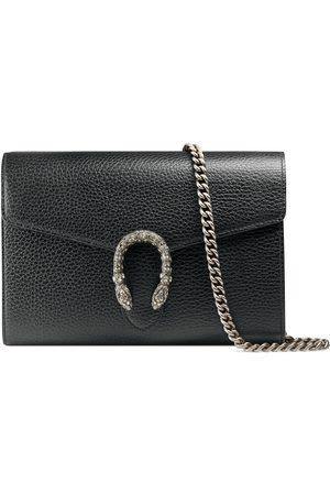 Gucci Mini borsa Dionysus in pelle con catena