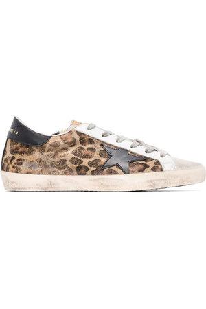 Golden Goose Sneakers Superstar leopardate