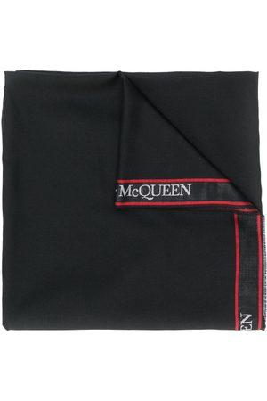 Alexander McQueen Sciarpa con applicazione