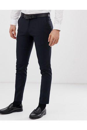 Burton Pantaloni super skinny navy eleganti
