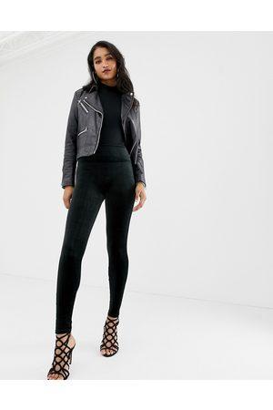 Spanx Leggings a vita alta modellanti in velluto