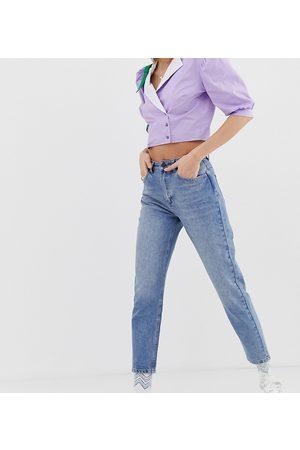 Reclaimed Vintage The '89 - Jeans slim affusolati stone wash medio vintage