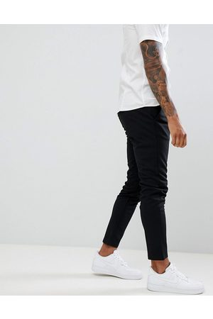Only & Sons Pantaloni slim affusolati neri