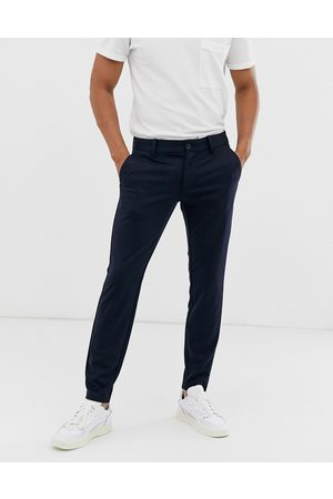 Only & Sons Pantaloni slim affusolati navy