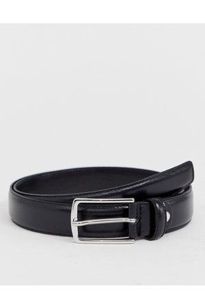 Jack & Jones Premium - Cintura in pelle nera