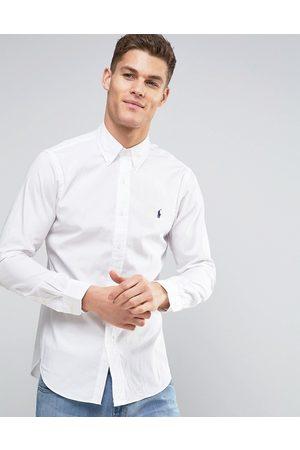 Polo Ralph Lauren Camicia slim bianca in popeline