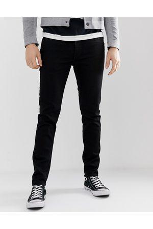 Levi's 512 - Jeans vita bassa slim affusolati neri