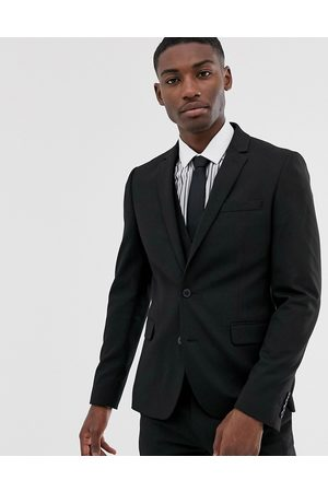 ASOS Giacca da abito skinny nera
