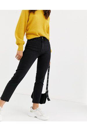 Only Jeans dritti regular con bordi grezzi