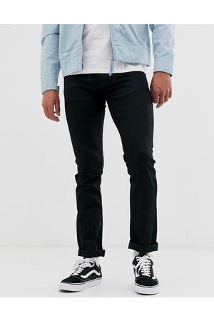Nudie Co - Grim Tim - Jeans slim dritti lavaggio Dry Ever
