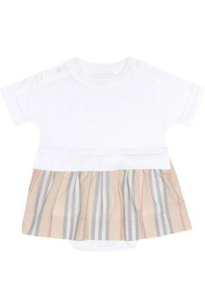 Burberry Neonati Vestiti estivi - Baby - Abito in cotone con culottes