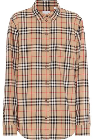 Burberry Camicia a quadri in cotone