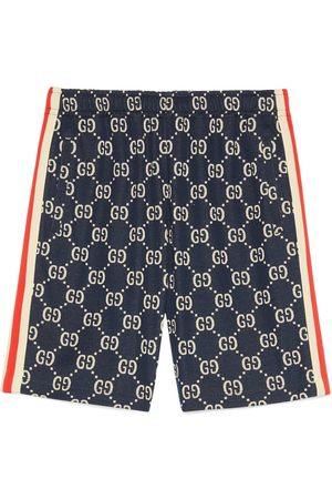 Gucci Uomo Pantaloncini - Shorts con motivo GG jacquard