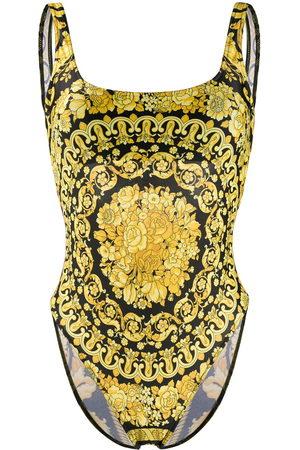 Versace Costume intero Barocco con stampa