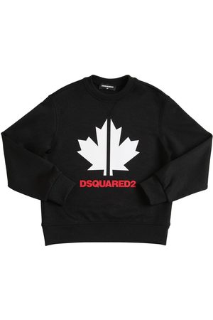 Dsquared2 Felpa In Triacetato Con Logo
