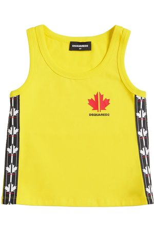 Dsquared2 Tank Top In Cotone