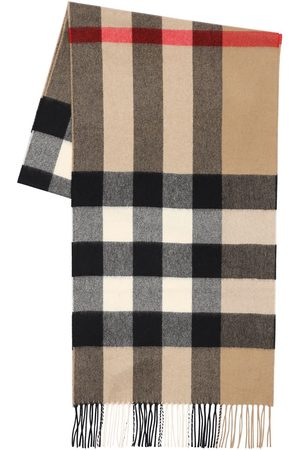 Burberry Sciarpa In Cashmere Check