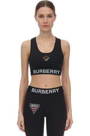 Burberry Reggiseno Sportivo In Jersey