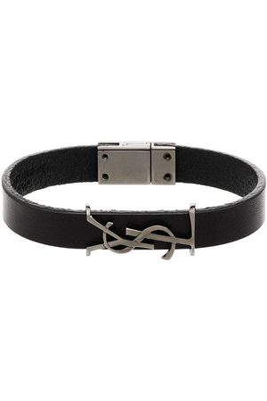 Saint Laurent Bracciale con incisione