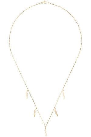 Andrea Fohrman Collana con pendenti in oro 18kt e diamanti - Metallic: