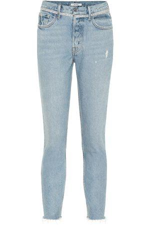 GRLFRND Jeans Karolina skinny a vita alta